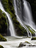 Waterfall in the Pacific Northwest Stock Images