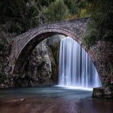 The waterfall of Paleokarya