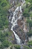 Waterfall on Pancava river Stock Photo