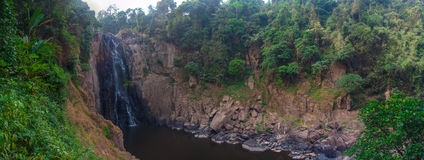 Waterfall panorama Royalty Free Stock Photo
