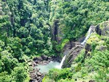Waterfall. In Papua New Guinea Stock Images