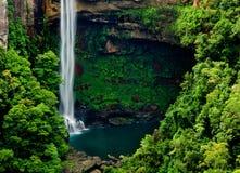 Waterfall Paradise stock photo