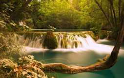 Waterfall of the Paradise Royalty Free Stock Photography