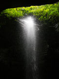 Waterfall in Paradise Royalty Free Stock Photography