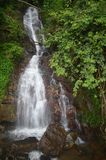 Waterfall in Park Royalty Free Stock Photos