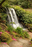 Waterfall. In the Park of Monserrate. Sintra - Portugal Royalty Free Stock Photos