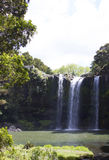 Waterfall and park Stock Images