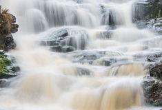Waterfall in the Peak District National Park Royalty Free Stock Photos