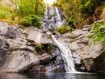 Waterfall Pedra da Ferida, in Miranda do Corvo