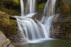 Waterfall of Penaladros Royalty Free Stock Photos