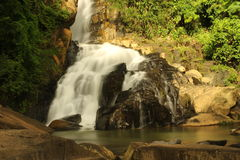 Waterfall. The Waterfall at Phangnga Thailand Royalty Free Stock Image