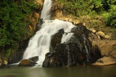 Waterfall. The Waterfall at Phangnga Thailand Royalty Free Stock Photo