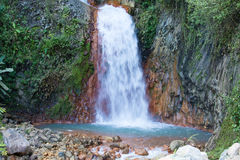 Waterfall, Philippines. Royalty Free Stock Photography