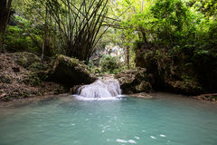 Waterfall in Philippines Stock Images