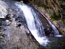 Waterfall. Photo of waterfall in Bariloche Royalty Free Stock Photography