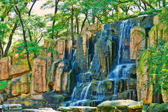 The waterfall Royalty Free Stock Image