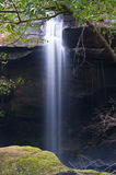 Waterfall at Phu Kra Dueng national park Stock Photos