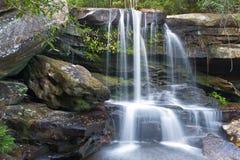 Waterfall at Phu Kra Dueng national park Stock Images
