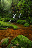 Waterfall on the Phusoidao mountain Royalty Free Stock Photo