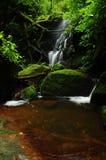 Waterfall on the Phusoidao mountain Royalty Free Stock Photography