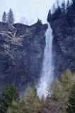 Waterfall of Pianazzo - Valchiavenna, Italy Royalty Free Stock Photo