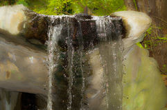 Waterfall. At plant nursery in Raleigh, North Carolina Royalty Free Stock Photography