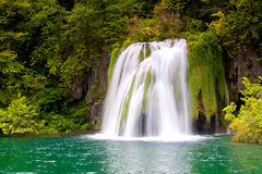 Waterfall from Plitvice Royalty Free Stock Image