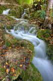 Waterfall in Plitvice Stock Photography