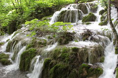 Waterfall in Plitvice Stock Photos