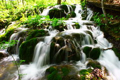 Waterfall-Plitvice Royalty Free Stock Images