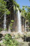 Waterfall at Plitvice lakes Stock Image
