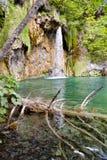 Waterfall - Plitvice lakes. Stock Photo