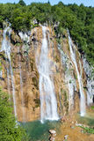 Waterfall (Plitvice Lakes National Park) Stock Image