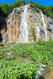 Waterfall (Plitvice Lakes National Park) Royalty Free Stock Photos