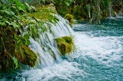 Waterfall in Plitvice Lakes park, Croatia Stock Image