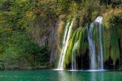Waterfall at Plitvicka Jezera - Plitvice Royalty Free Stock Photo