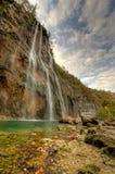 Waterfall in Plivicka Jezera Plitvice Royalty Free Stock Image