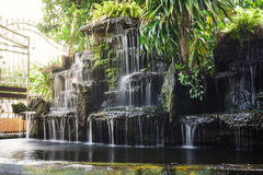 Waterfall pond. Stock Image