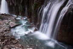 Waterfall in pool Stock Photo