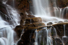 Waterfall in the portuguese national park of Geres Royalty Free Stock Image