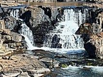Waterfall potholes Stock Image
