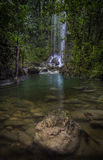 Waterfall in Puerto Rico Royalty Free Stock Image
