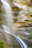Waterfall in Pyrenees Stock Images