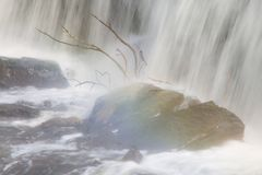 Waterfall rain Royalty Free Stock Photos