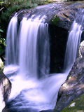 Waterfall in rain forest Royalty Free Stock Photos