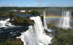 Waterfall Rainbow Royalty Free Stock Image