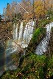 Waterfall and rainbow Royalty Free Stock Photo