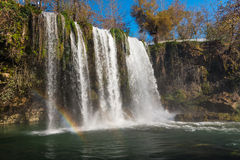 Waterfall and rainbow Royalty Free Stock Image