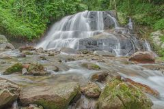 Waterfall in Thailand. Stock Image