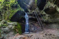 Waterfall at Ram-szakadek . Royalty Free Stock Image